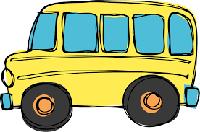 Skolēnu autobuss 14.janvārī